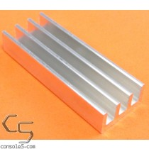 DIP32 Aluminum Heat Sink: Glue On / Thermal Epoxy Style DIP 32