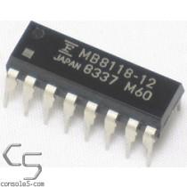 16Kb x 1-Bit DRAM: MB8118-12 - New! (Fujitsu 4516 RAM Sub)