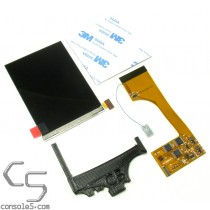FunnyPlaying Nintendo Game Boy Color IPS Full Size LCD Upgrade Kit and Bracket