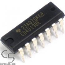 CD4013 Flip-Flop IC (Atari 5200 / 7800: Power stuck on or off) Flip Flop
