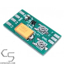 Miniature Surface Mount CXA1145 S-Video and Mod PCB / Parts Kit (2SC945)