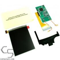 v2 Nintendo Game Boy Color IPS Full Size LCD Upgrade Kit and LCD Bracket