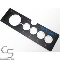 IN PRODUCTION: MB Vectrex Controller / Joystick Overlay Label Sticker Milton Bradley