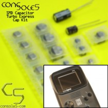 NEC Turbo Express / PC Engine GT SMD Cap Kit (with Jailbar fix caps)