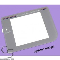 GLASS Game Boy DMG-01 Replacement Lens / Screen Cover (Play It Loud) (See Note)