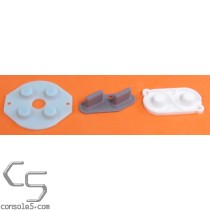 Game Boy DMG-01 Replacement Controller Silicone Rubber Carbon Dot Pads