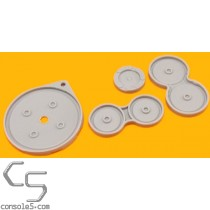 Game Boy Advance SP Replacement Controller Silicone Rubber Carbon Dot Pads GBASP