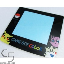 GLASS Game Boy Color Pokemon Yellow New Replacement Lens Screen Cover