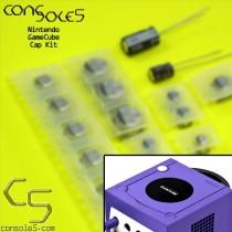Nintendo GameCube SMD Cap Kit - NTSC and PAL