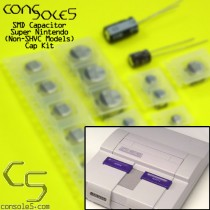 Super Nintendo / Super Famicom SNES SMD type Cap Kit (Non-SHVC Models)