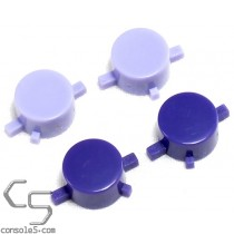 Super Nintendo Controller Button Replacement Set - Purple for North American SNES