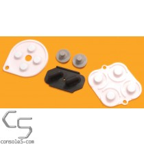 SNES SFC Super Nintendo Replacement Controller Silicone Rubber Carbon Dot Pads