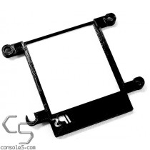 "v3 Nintendo Game Boy Classic / DMG-01 IPS 3.2"" IPS LCD RIPS Mounting Bracket - Black Filament"