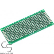 Perforated Prototype PCB Boards: 3cm x 7cm