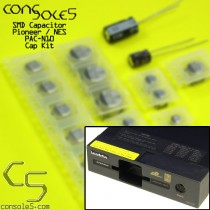 Pioneer LaserActive NEC PAC-N1, PAC-N10, PCE-LP1 SMD Cap Kit (with Jailbar Fix)