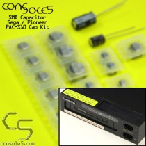 Pioneer / Sega PAC-S1 / PAC-S10 Laseractive SMD Cap Kit