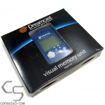 Sega Dreamcast VMU - Clear Blue - NEW! (MK-50121)