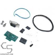 Sega Game Gear Controller Port Adapter DIY Kit - Unassembled Component Version