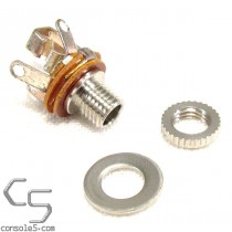 2.5mm miniature jack, mono 2-conductor jack, female - Pong controllers