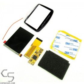 v2 Game Boy Advance Modern IPS Backlit LCD Upgrade Kit - GBA