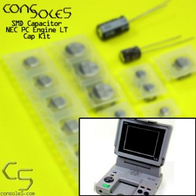 NEC PC Engine LT SMD Cap Kit (includes Jailbar Fix caps)