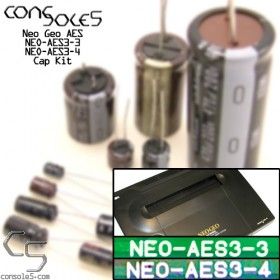 SNK Neo Geo AES - NEO-AES 3-3, 3-4 Cap Kit