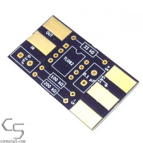 Vectrex Debuzz Circuit Component and assembly PCB Kit