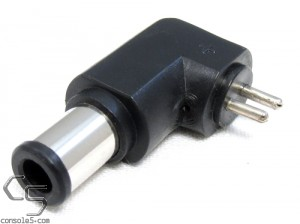 2 Pin Adaptaplug DC Plug Adapter for US/NTSC Super Nintendo SNES