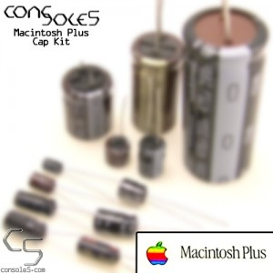 Macintosh Plus Nichicon VX Axial Electrolytic Main PCB Cap Kit