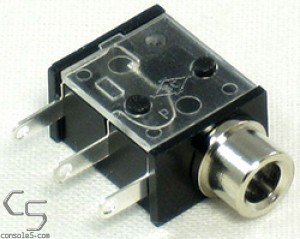 Atari 2600 VCS DC Power Jack