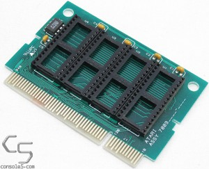 Atari Jaguar EPROM populated cartridge PCB w/ EEPROM - 4x4Mb