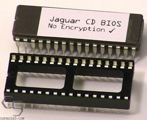 Atari Jaguar CD Encryption Bypass BIOS Kit