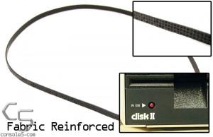 Apple Disk II Shugart Floppy Drive fabric reinforced rubber spindle belt - Disk 2 ][