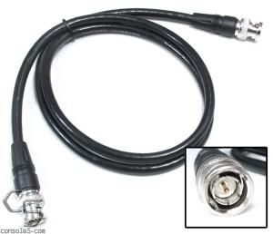 3 Foot (0.9m) BNC RG59U 75 ohm Coaxial Video Cables 3'