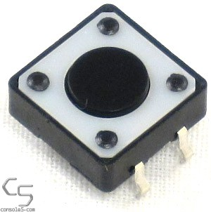 Button Switch - 12mm x 4.5mm (Atari 7800 Power Pause Select Reset)