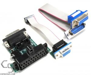 ByteBoosters Apple IIgs 15 pin video to SCART / VGA Adapter
