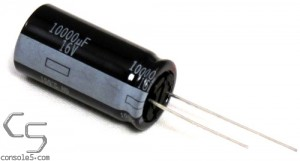 10,000uF 16v Panasonic 105c Electrolytic Capacitor - For Power Supply 10000uF