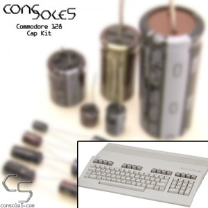Commodore 128 Computer Cap Kit