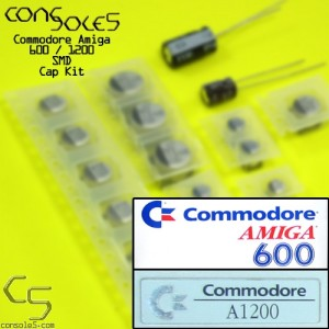 Commodore Amiga 600 / 1200 Surface Mount SMD Cap Kit