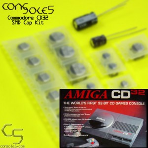 Commodore Amiga CD32 SMD Cap Kit