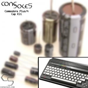 Commodore Plus/4 Cap Kit: ASSY 250455, 310163, 310164 - Plus4