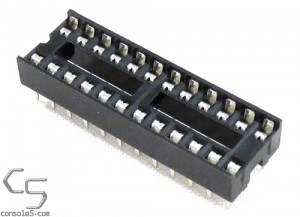 24 pin DIP IC chip sockets 24p DIP24 NARROW