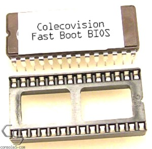Colecovision Fast Boot BIOS Chip & Socket Kit (NTSC) - (Formerly No Delay BIOS)
