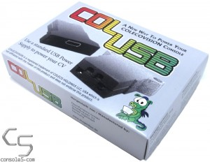 ColUSB - USB Power Supply for the Colecovision ColecoPlug USB-C