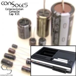 Colecovision Console Cap Kit - PAL 91162REV D