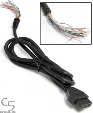 Neo Geo, Atari 5200, PC Controller Joystick Repair Cables 4' 1.2m
