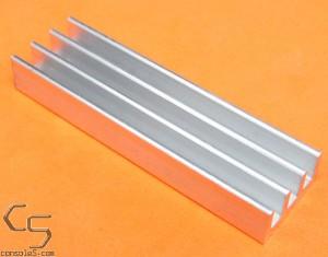 DIP40 Aluminum Heat Sink: Glue On / Thermal Epoxy On DIP 40