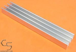 "DIP64 3"" Aluminum Heat Sink Glue On / Epoxy On Compact Style DIP 64"