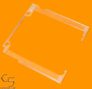 FunnyPlaying Mounting Bracket for Nintendo Game Boy Pocket GBP retro pixel IPS LCD - Clear Filament