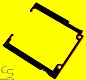 FunnyPlaying Mounting Bracket for Nintendo Game Boy Pocket GBP retro pixel IPS LCD - Black Filament